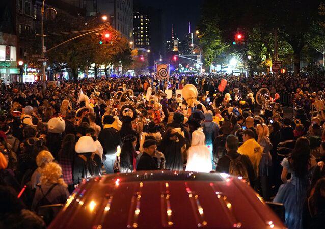 الاحتفال بالـ هالوين في نيويورك، الولايات المتحدة