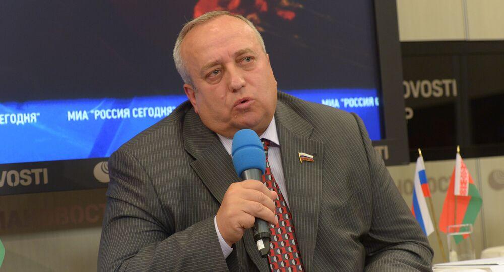 صرح النائب لأول لرئيس لجنة شؤون الدفاع بمجلس الاتحاد الروسي  فرانتس كلينتسيفيتش