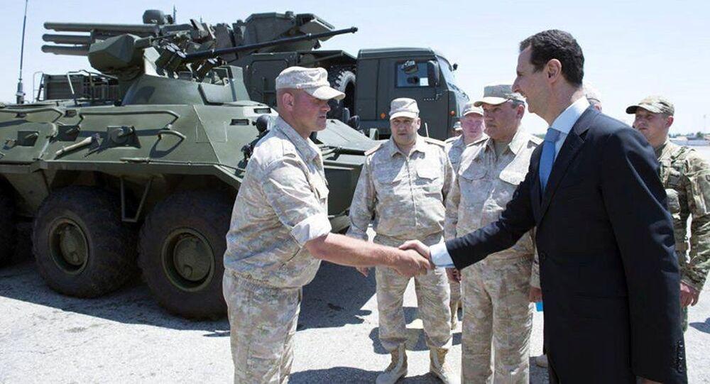 القواعد الروسية في سوريا -حميميم