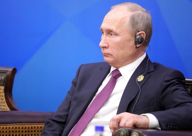 الرئيس فلاديمير بوتين في قمة إبيك، 10 نوفمبر/ تشرين الثاني 2017 /