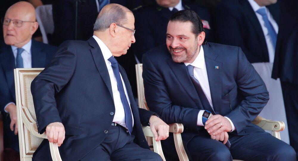 الحريري يحضر احتفالات عيد الاستقلال في بيروت