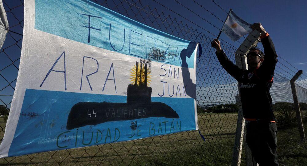 البحث عن الغواصة الأرجنتينية سان خوان التي فقد الاتصال بها في 20 نوفمبر/ تشرين الثاني 2017