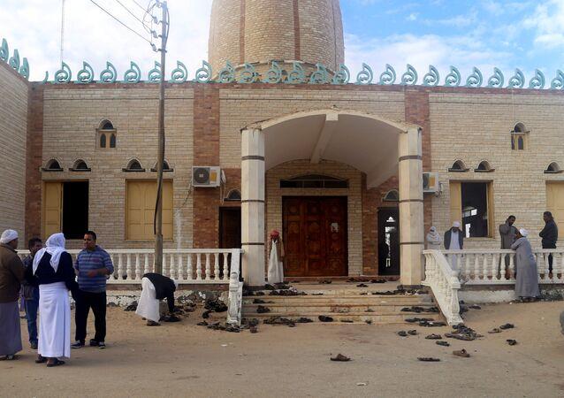 مسجد الروضة شمال سيناء