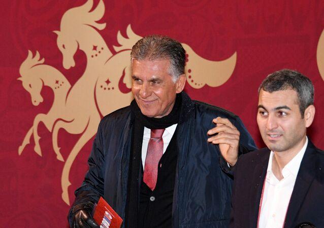 مدرب المنتخب الإيراني كارلوس كيروش