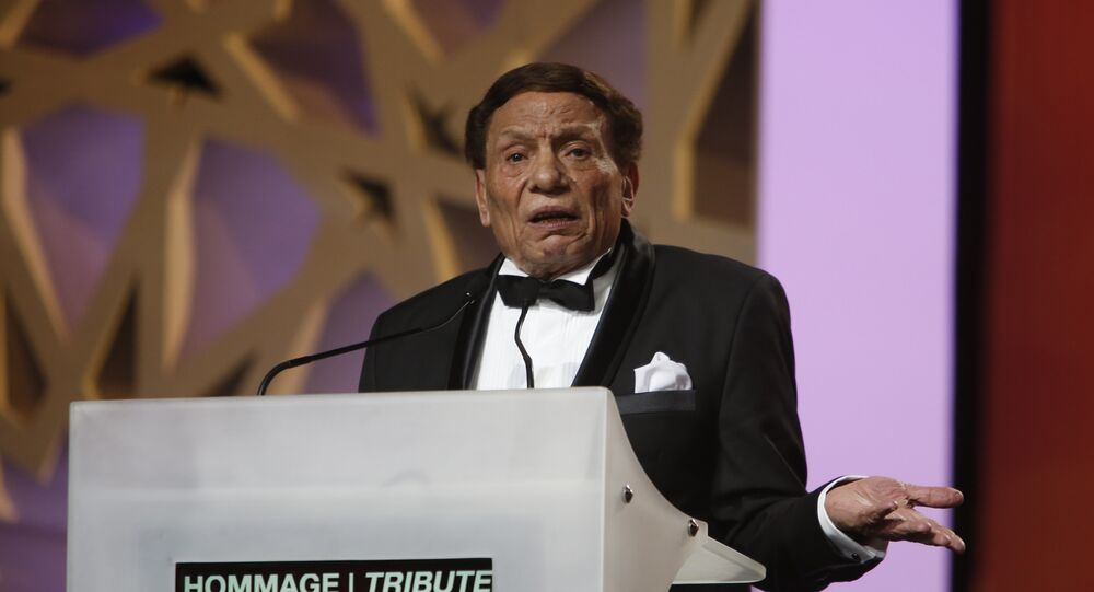 الممثل المصري عادل إمام