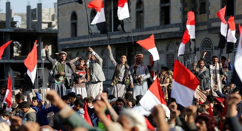 مسيرة أنصار الله في صنعاء