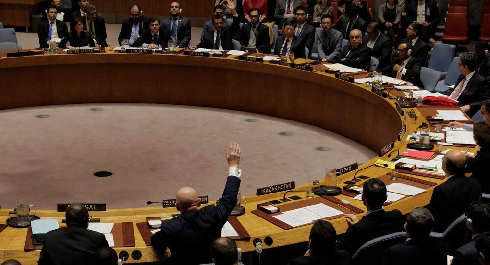 مجلس الأمن الدولي للأمم المتحدة، نيويورك، الولايات المتحدة 16 نوفمبر/ تشرين الثاني 2017