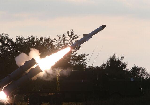 تمرين إطلاق صاروخ بال في منطقة كالينينغراد