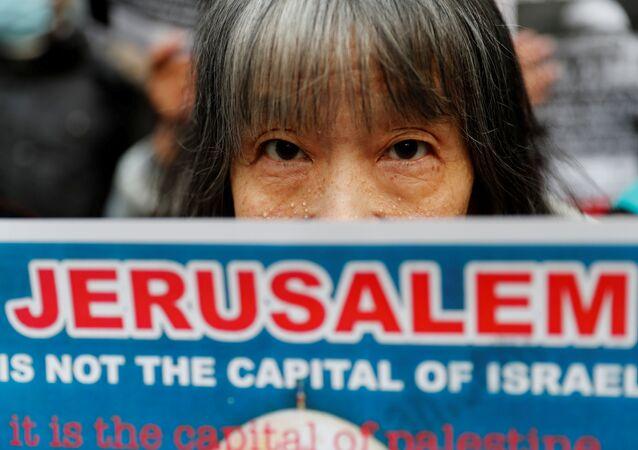احتجاجات في طوكيو رفضا لقرار ترامب