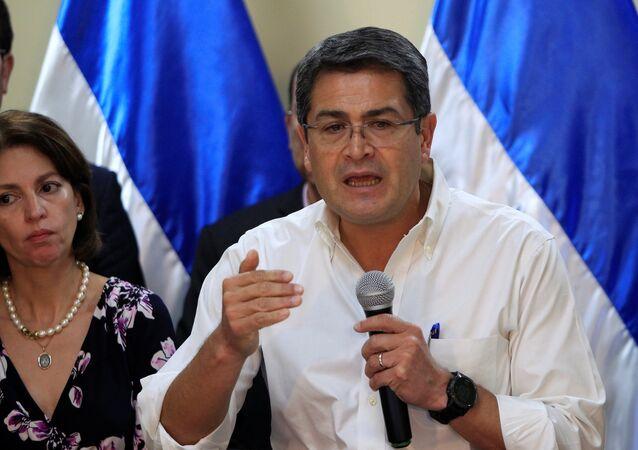 رئيس هندوراس خوان أورلاندو هيرنانديز