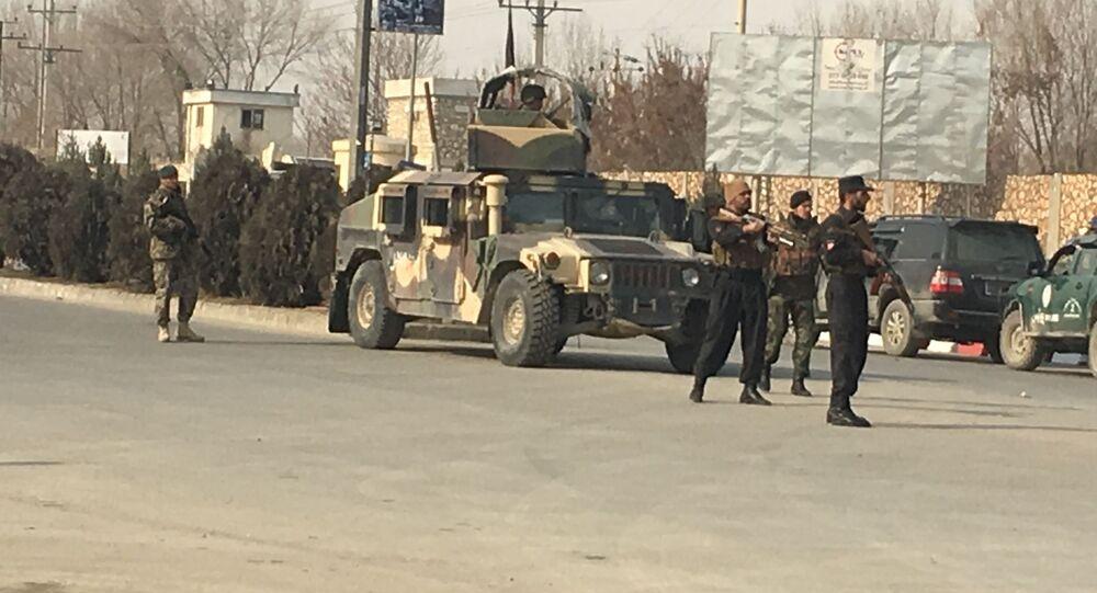 الوضع بعد الهجوم على مركز التدريب الاستخباراتي الأفغاني في كابول، أفغانستان