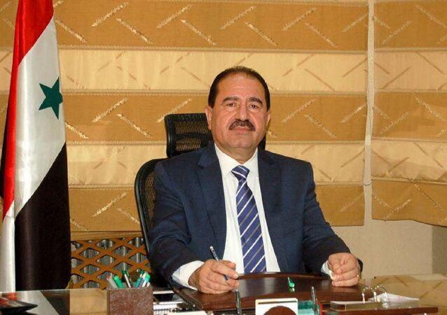 وزير النقل السوري علي حمود