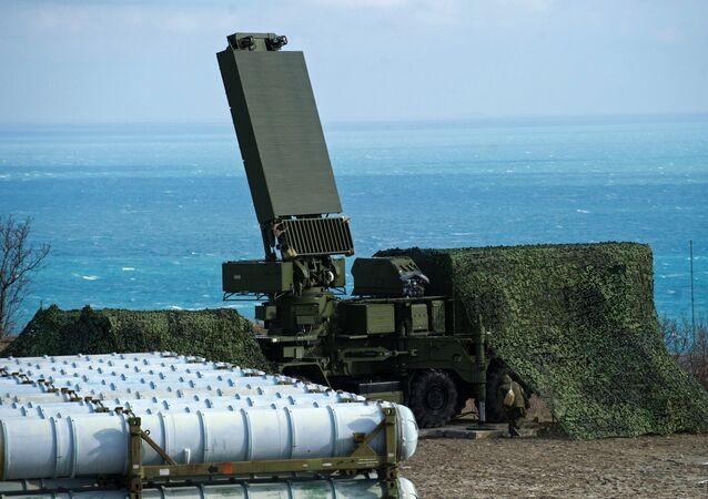 رادار كشف الأهداف لمنظومة الدفاع الجوي إس-400