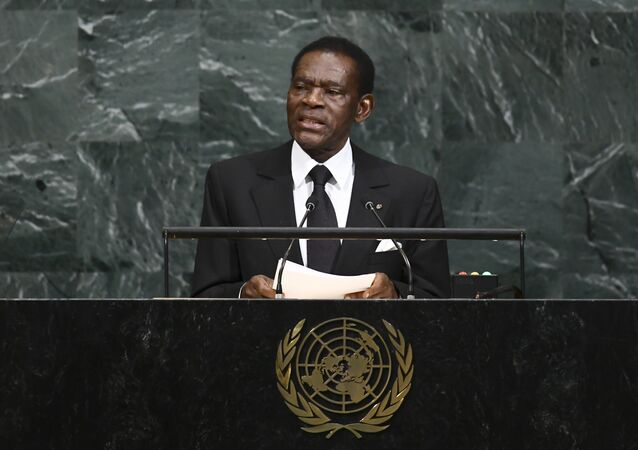 رئيس غينيا الاستوائية تيودورو أوبيانغ