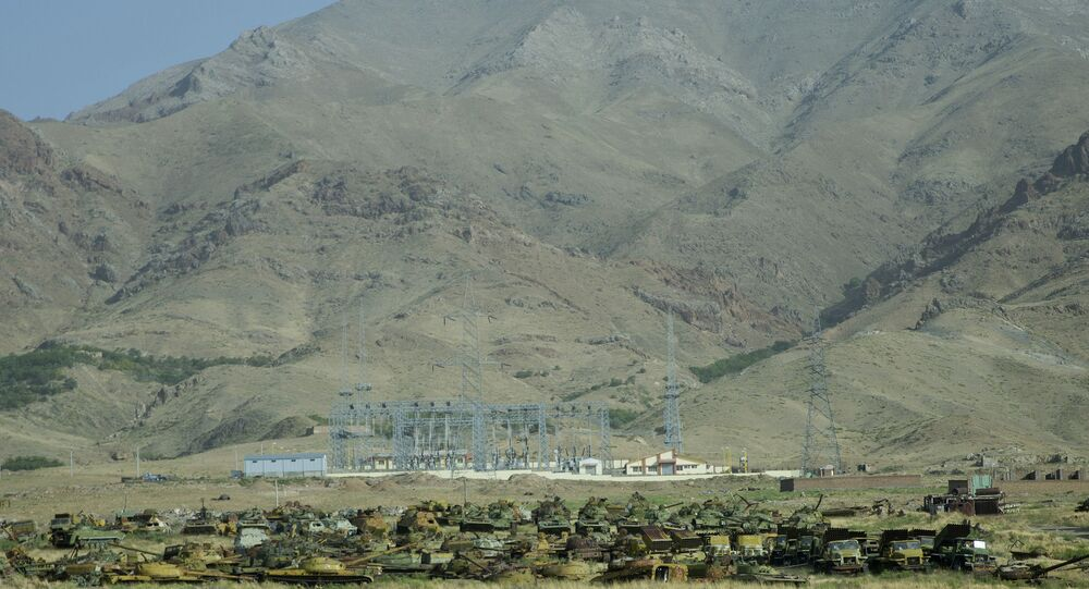 جبال أفغانستان الوعرة