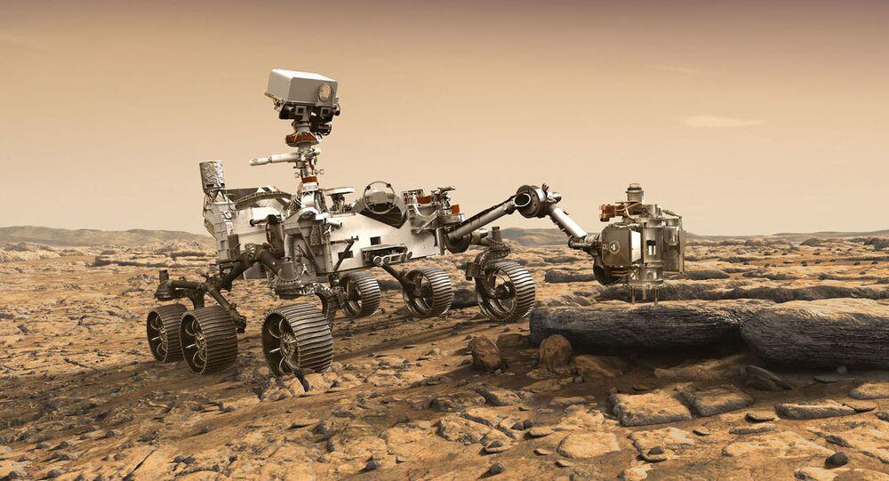 روفر المريخ عام 2020