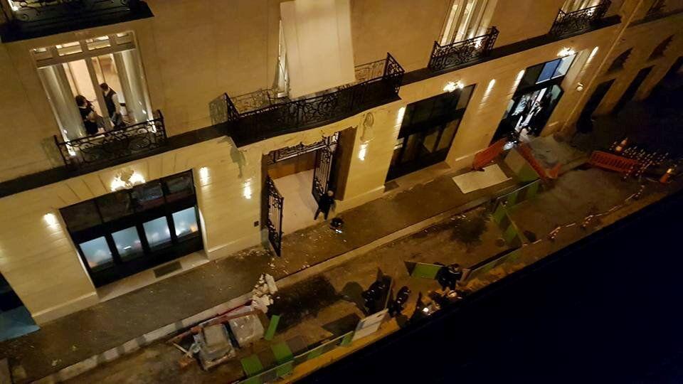 فندق ريتز بعد تعرضه لحادث سطو في العاصمة الفرنسية باريس الخميس 11 يناير/كانون الثاني 2018