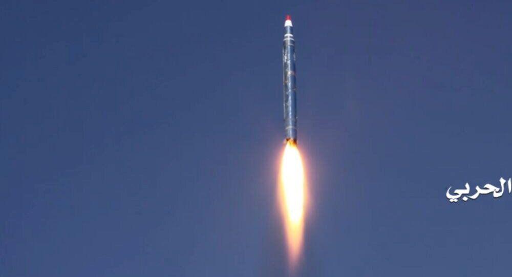 الصاروخ الذي أطلقته أنصار الله على الرياض