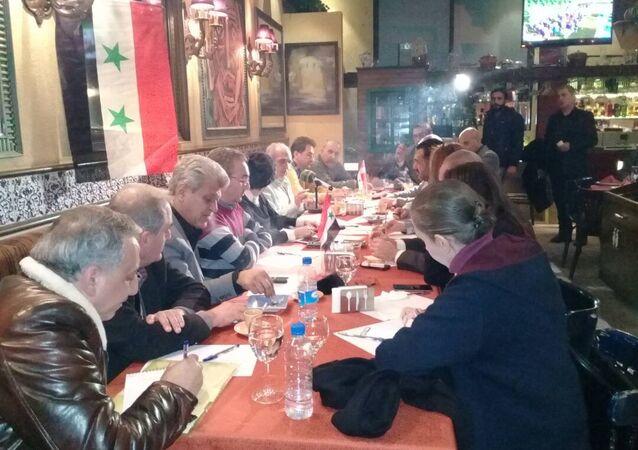 اجتماع لأحزاب وقوى سياسية مدنية في سوريا