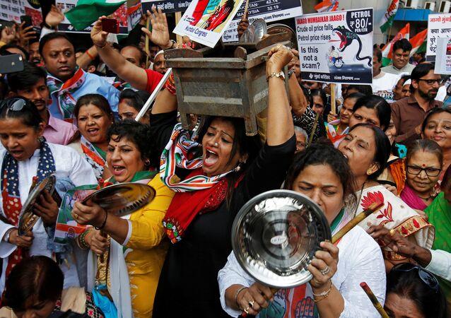 مظاهرات للمعارضة في الهند