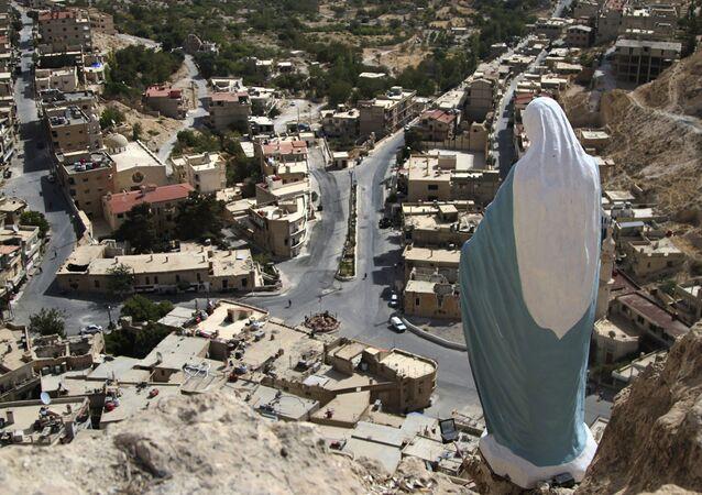 قرية معلولا في سوريا
