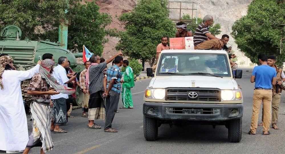 مسلحو المجلس الانتقالي الجنوبي في عدن