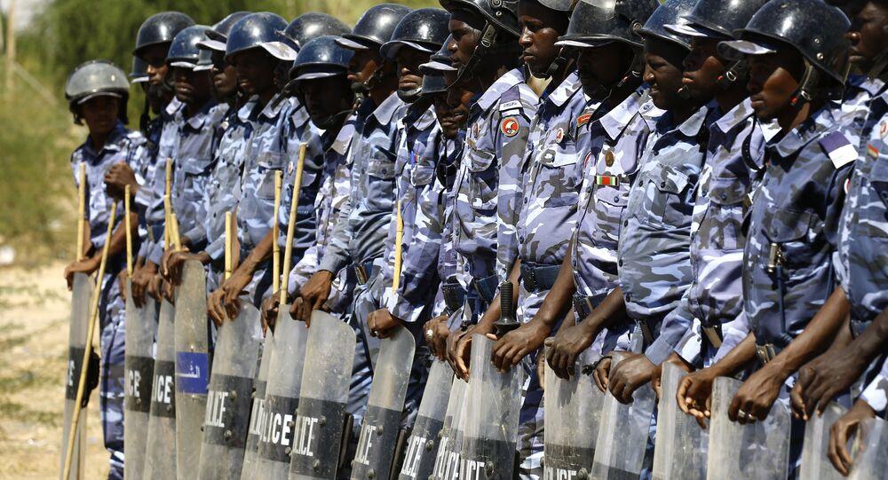 عناصر الشرطة السودانية