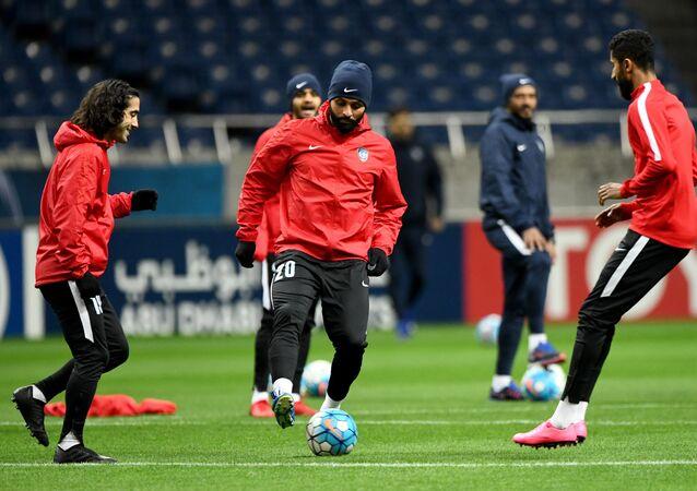 تدريبات نادي الهلال السعودي