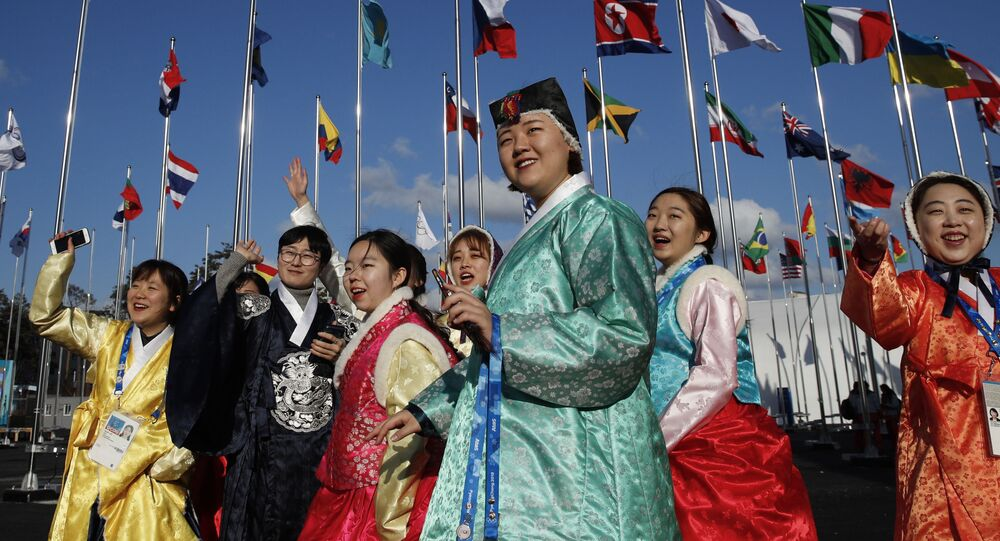 استعداد كوريا الجنوبية لاستضافة دورة الألعاب الأولمبية الشتوية 2018 - متطوعون - أولمبياد 2017، بيونغ تشانغ 7 فبراير/ شباط 2018