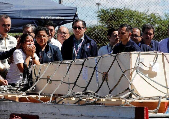 جثة الخادمة الفلبينية التي قتلت في الكويت