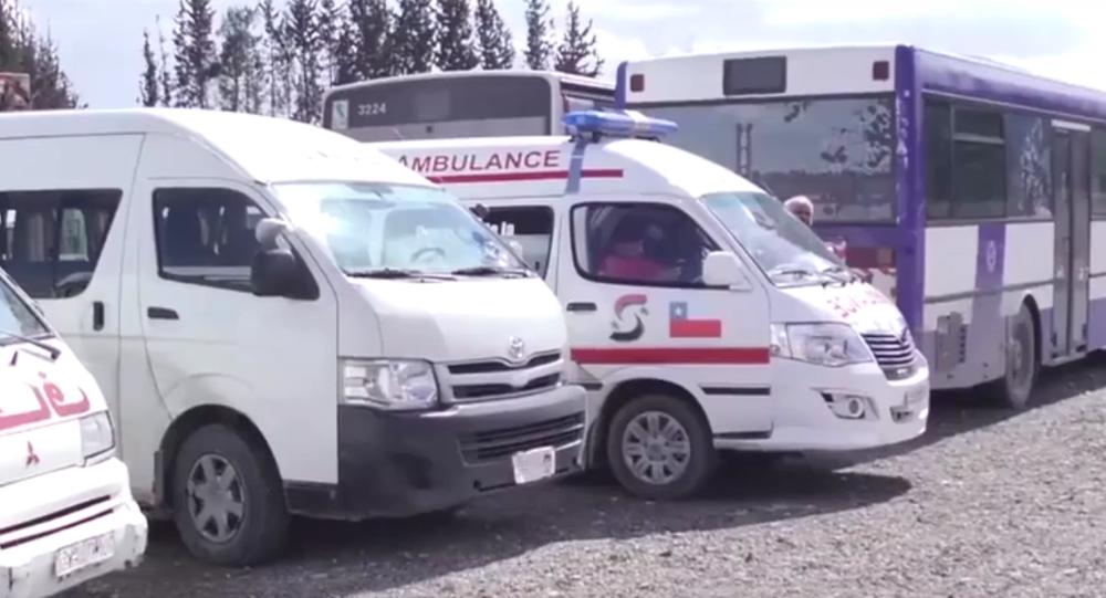 تعامل المسلحون مع المعابر الإنسانية التي فتحها الجيش السوري