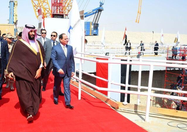 ولي العهد السعودي محمد بن سلمان والرئيس المصري عبد الفتاح السيسي