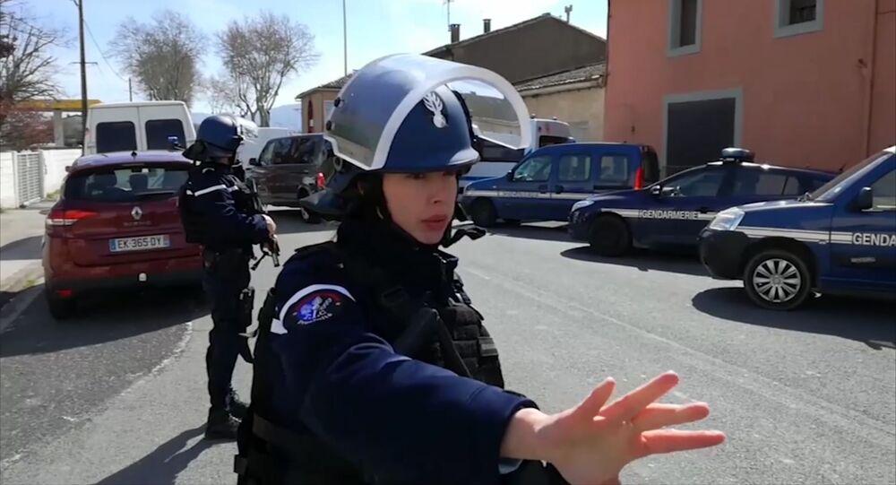 عملية احتجاز الرهائن في فرنسا
