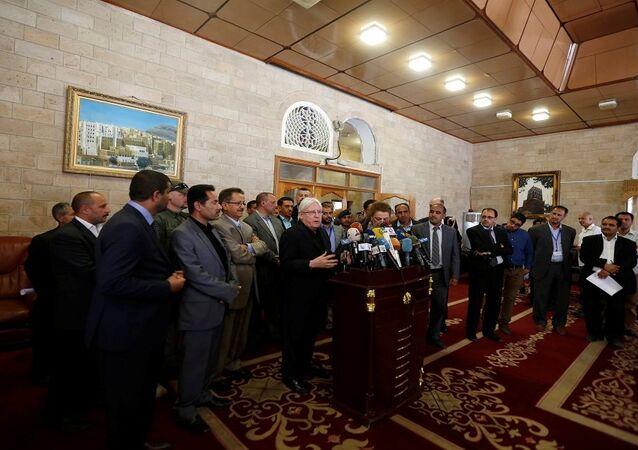 المبعوث الأممي إلى اليمن مارتن غريفيثس