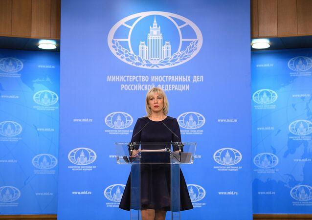 المتحدثة باسم الخارجية الروسية ماريا زاخاروفا