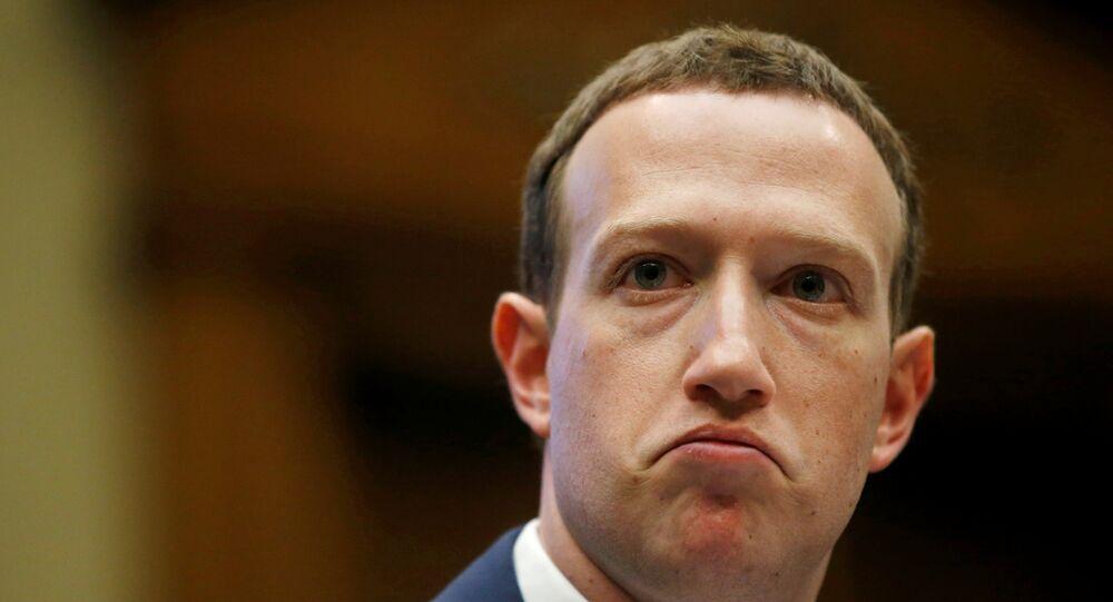 مؤسس شركة فيسبوك مارك زوكربرغ