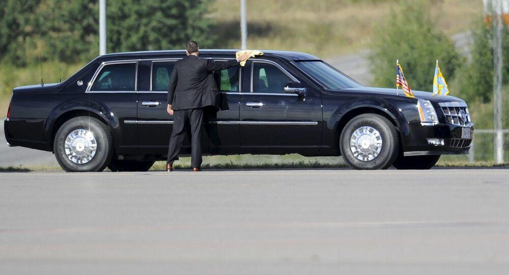 Президентский автомобиль Cadillac One/The Beast