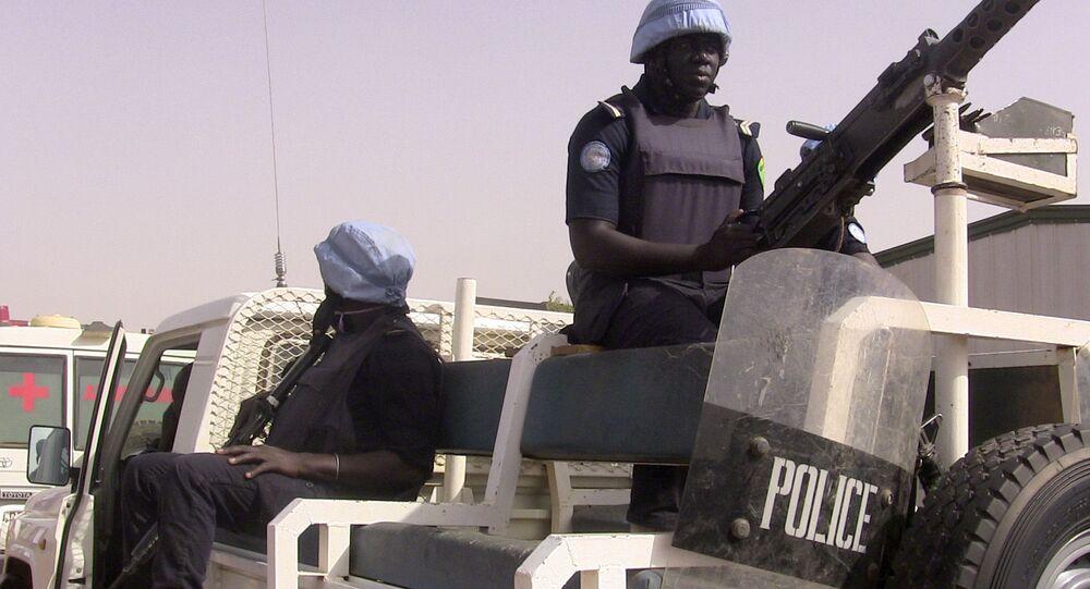 الشرطة في مالي