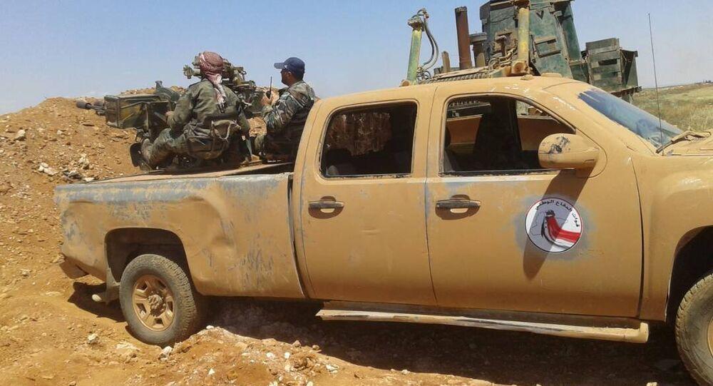 الجيش العربي السوري في ريف حماة