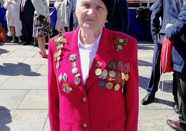 ماريا ماكسيموفا احدى بطلات الحرب العالمية الثانية