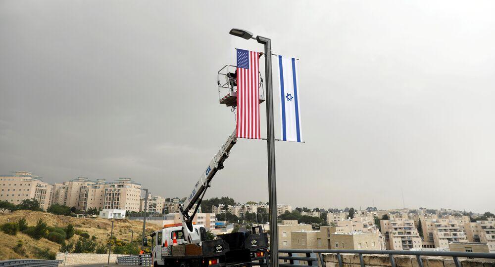 افتتاح السفارة الأمريكية الجديدة في القدس، 14 مايو/ أيار 2018