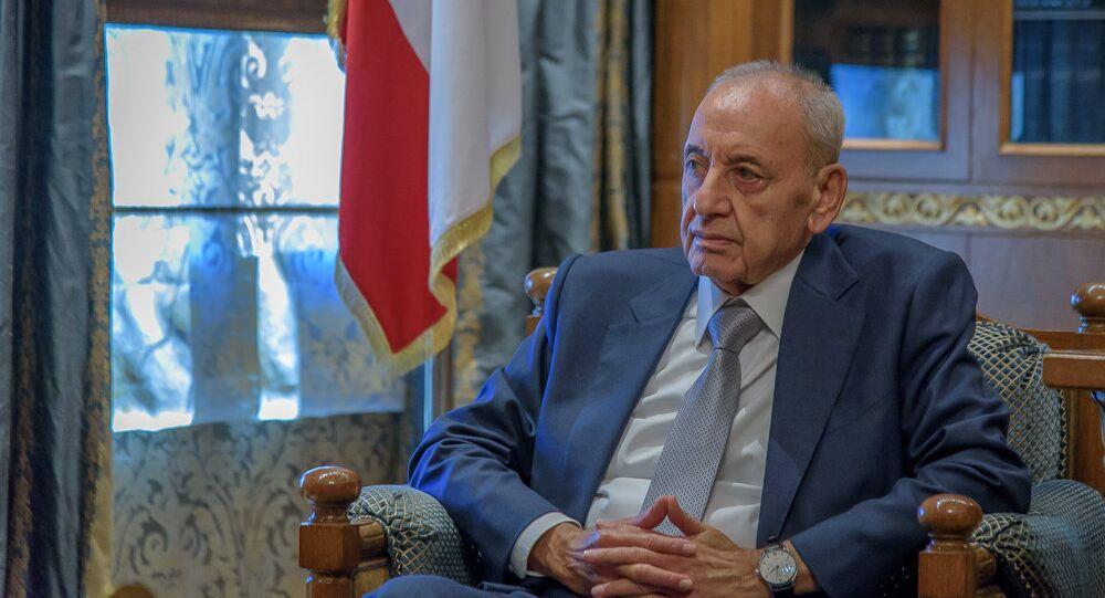 مقابلة رئيس مجلس النواب اللبناني نبيه بري
