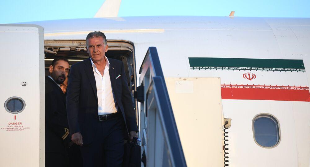 كارلوس كيروش مدرب المنتخب الإيراني