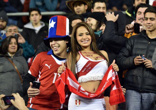 مشجعي منتخب البيرو