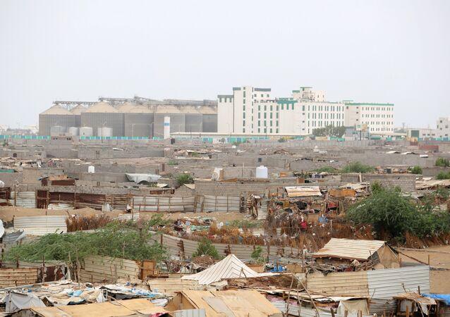 مطار الحديدة في اليمن