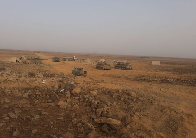 الجيش السوري في البادية السورية