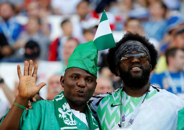 جماهير منتخب نيجيريا