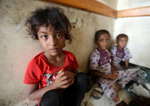 أطفال في مدينة الحديدة / اليمن
