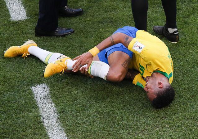 نيمار لاعب منتخب البرازيل