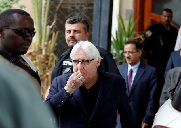 المبعوث الأممي الخاص إلى اليمن، مارتن غريفيث